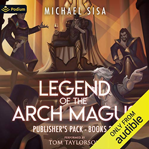 Couverture de Legend of the Arch Magus: Publisher's Pack 2