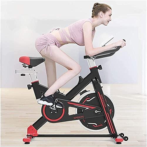 Ciclismo Bicicleta Interior Bicicleta Tracción Tracción Cinturón silencioso con manillares y Asientos Ajustables Fitness Bicicleta y Entrenador AB Sports Team Cardio Trainer