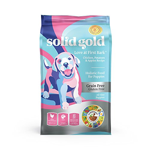 Solid Gold - Love at First Bark – Natural Dog Puppy Food – Holistic Superfoods Rich Food for Puppies of All Sizes & Breeds