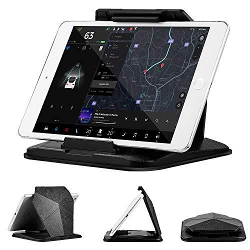 suily - Soporte de Tablet para Coche, Compatible con iPad Pro/Air/Mini/Galaxy Tab/iPhone X/XS/XS MAX Smartphones/GPS