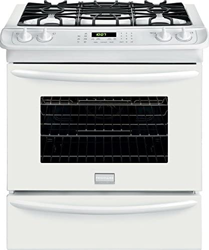 Frigidaire FGGS3065PWGallery 30 White Gas Slide In Sealed Burner Range Convection product image