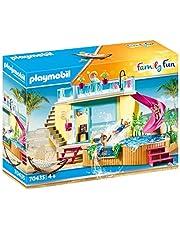 PLAYMOBIL Family Fun 70435 Bungalow z basenem, od 4 lat