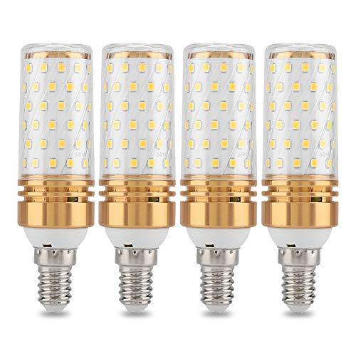Riuty E14 Bombillas de luz LED para maíz, Paquete de 16W