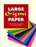 Large Origami Paper : 24 9' X 9' Sheets in 12 Colors