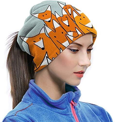 Halstuch Kopfbedeckung Gesicht Sonne Maske Magic Scarf Bandana Sturmhaube Gr. One size, Füchse Big Family lustiges Tier