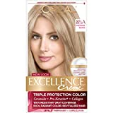 Best Blonde Hair Dyes - L'Oreal Paris Excellence Creme with Pro-Keratine Complex, Champagne Review