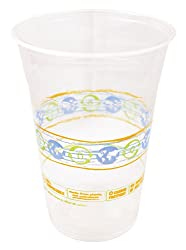 World Centric Compostable Clear 16-Ounce Cold Cups-20 pk