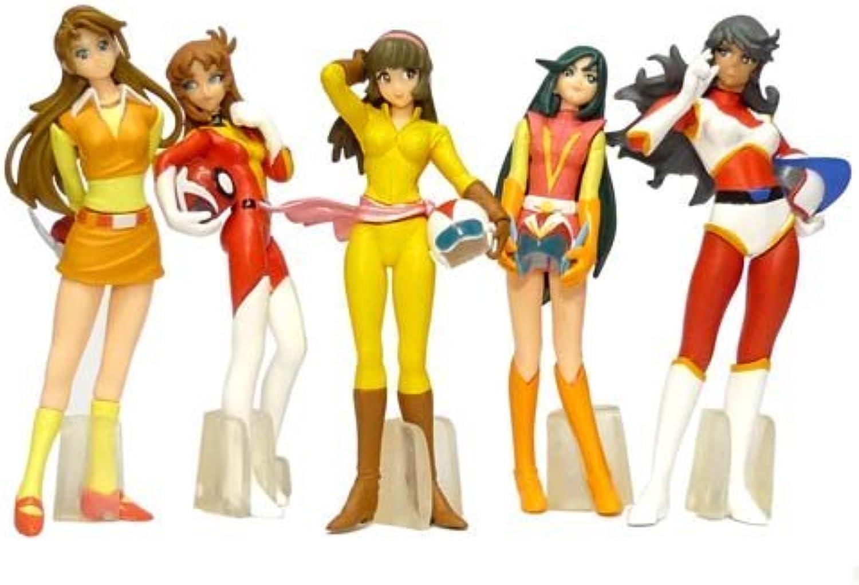 HGIF Gashapon Super Robot Heroines full set of 5 (japan import) B002U9DYG6 Ruf zuerst  | Schöne Kunst