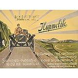 Wee Blue Coo Anuncio Classic Car Automobile Italia Roma Hupmobile...