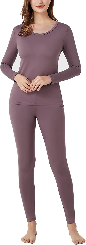 LAPASA quality assurance Super-cheap Womens Thermal Underwear Long Set Fleece Lined