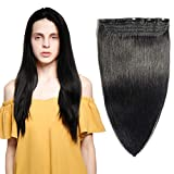 Best Sexybaby Human Hair Extensions - 100% Remy Clip in Human Hair Extensions #1 Review