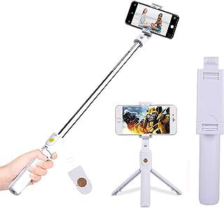 Extendabale Monopod Soporte para iPhone X // 8//7//6 Mini C/ámaras Reflex Galaxy Note 8 // S8 joizo Universal del tel/éfono m/óvil de la Abrazadera con el tr/ípode para la c/ámara Selfie Gopro DS