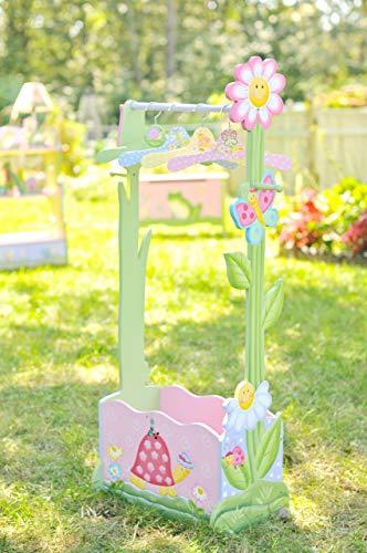 Fantasy Fields by Teamson Magic Garden Cremagliera per Abbigliamento con 4 Appendini, Multicolore