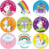 Unicorn Sticker Roll Stickers for Valentine's Day Exchange Gift Envelope Sealing Stickers