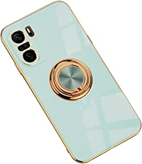 Hicaseer Case for Redmi K40,Ultra-Thin Ring Shockproof Flexible TPU Phone Case with Magnetic Car Mount Resist Durable Case...