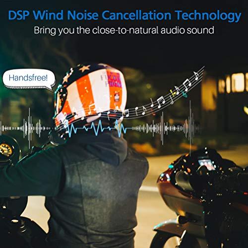 LEXIN B4FM 2X Motorrad Bluetooth Headset, Helm Intercom Geräuschreduzierung, Kommunikationssystem für Motorräder, Freisprechanlage bei Motorradfahren und Skifahren - 6