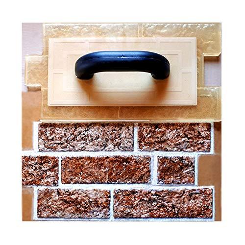 Polyurethane vertical stamp BRICKS   Stone Decorative Concrete Cement Imprint Texture Stamp Mat Stamping