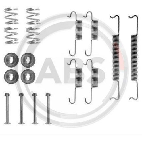 ABS All Brake Systems 0570Q - Kit Accessori, Ganasce Freno