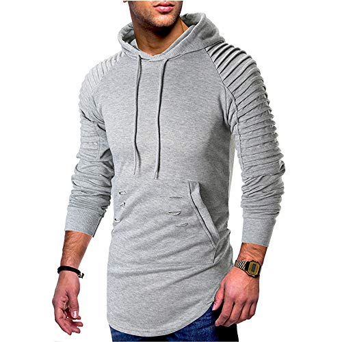 Suéter de los hombres de la juventud Casual con capucha agu