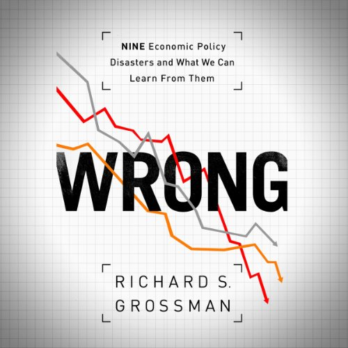 WRONG: Nine Economic Policy Disasters and What We Can Learn from Them audiobook cover art