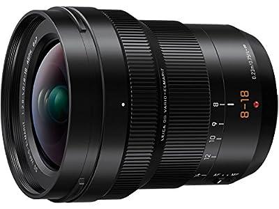 PANASONIC LUMIX Professional 8-18mm Camera Lens, G LEICA DG VARIO-ELMARIT, F2.8-4.0 ASPH, Mirrorless Micro Four Thirds, H-E08018 (Black) (Renewed) from Panasonic