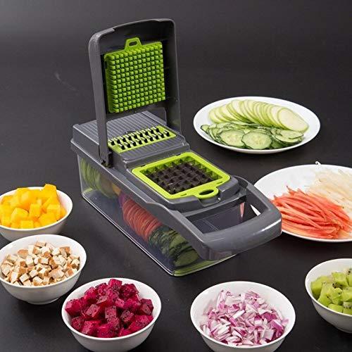 Wilk Hogar Conveniente Material de Cortador de Verduras Aparato de Cocina Mandoline Slicer Cortador de la Fruta de la Patata Peeler Zanahoria Rallador de Queso Vegetable Slicer
