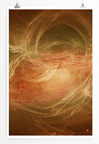 Irgendwie Hatte ich Mir das Anders vorgestellt - modernes abstraktes Bild Sinus Art - Bilder, Poster und Kunstdrucke