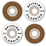 Spitfire Classic Series 53mm High Performance Skateboard Wheel (Set of 4)
