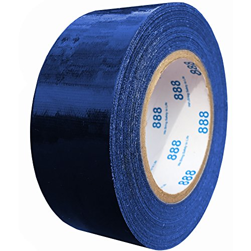 MG888 Navy Blue Colored Duct Tape Roll 1.88 Inches x 60 Yards for Repairs, Crafts, DIY, Multi Use