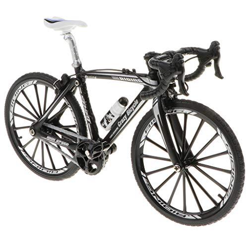 FLAMEER 1:10 Juguete de Bicicleta de Simulación Aleación