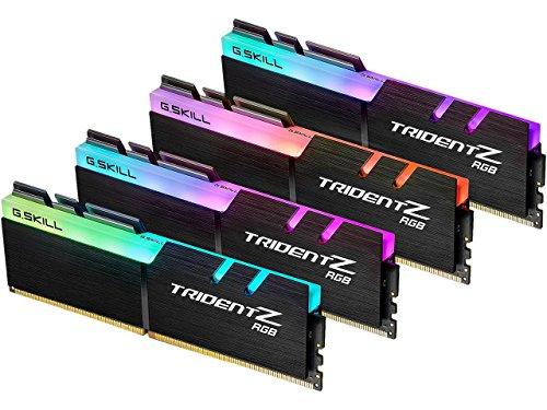 G.Skill F4-3466C16Q-64GTZR - Kit de Memoria DDR4 4 x 16 GB, Color Negro