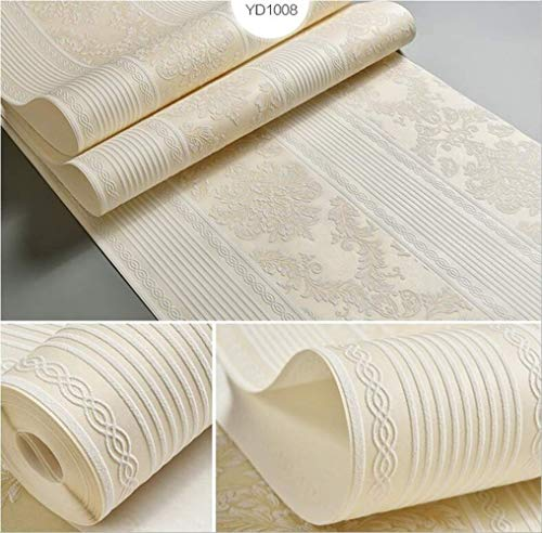 libby-nice Wallpaper 3d Flocking Wallpaper European Striped,wallpaper Bedroom Living,room Tv Background Wallpaper Papier A