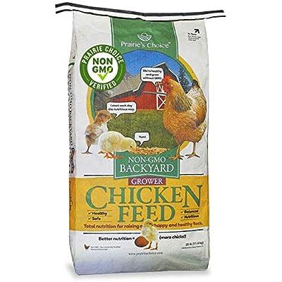 草原的选择非转基因后院鸡饲料-种植者配方,25磅