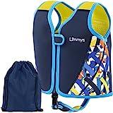 Limmys Giubbotto da Nuoto in Neoprene per Bambini - Aiuto Ideale per Il galleggiamento per Bambini - Borsa con Coulisse Inclusa (Medium)