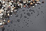 NORDFOL 5,99€/m² Teichfolie schwarz PVC -P 1,0mm stark - Folie, Gartenteich, Goldfischteich (PVC-P, 5m x 4m)