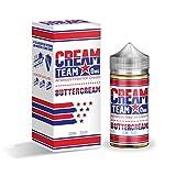 CREAM TEAM VAPE 電子タバコ リキッド USA産 (BUTTERCREAM, 100ml)