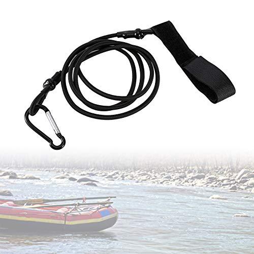 Yosoo Health Gear Kayak Paleta Correa Paddle Leash, Canoa Safety Rod Leash Caña de Pescar Lanyard Strap para Remos de Kayak Soporte de Caña de Pesca (97cm)