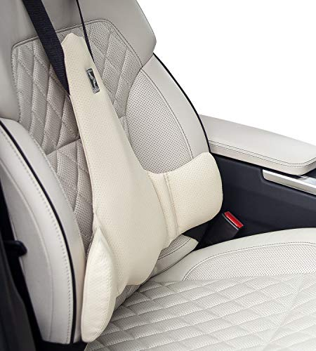 KULIK SYSTEM - New Lumbar Support for Car - Innovative Car Back Support - Car Seat Cushions for Lower Back Pain Relief - Lower Back Pillow for Car - Patented