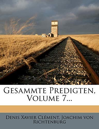 Clément, D: Herrn Clement Gesammte Predigten, siebenter Thei