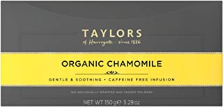 Taylors of Harrogate Organic Chamomile Herbal Tea, 100 Teabags