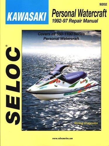 Kawasaki Personal Watercraft, 1992-97 (Seloc Marine Tune-Up and Repair Manuals) by Seloc (1998-03-01)