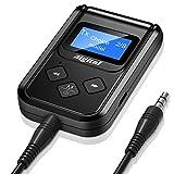Aigital Bluetooth Transmitter Empfänger Adapter 3 in 1 Bluetooth 5.0 Sender/Receiver Wireless Audio Adapter mit 3,5mm Audio Kabel .für TV, Kopfhörer, Heim Stereoanlage und Auto Soundsysteme etc