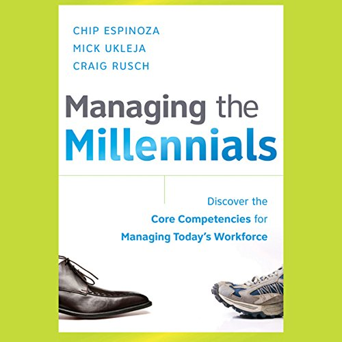 Managing the Millennials audiobook cover art
