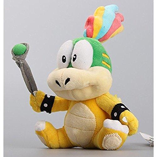 Super Mario Bros Plush 7.9 Inch / 20cm Lemmy O. Koopa Doll Stuffed Animals Figure Soft Anime Collection Toy