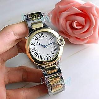 JINN-Women's Watches - Fashion Silver Gold Stainless brand Watch Quartz Wrist Watches Ladies Girls Famous Female Clock Mon...