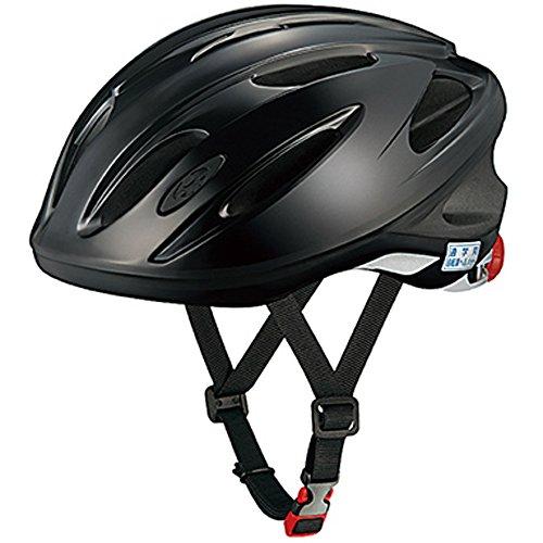 オージーケーカブト(OGK KABUTO) 自転車 ヘルメット スクール用 SN-11 ブラック 無地 テープなし サイズ:57~60cm