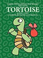 Coloring Book for 4-5 Year Olds (Tortoise)