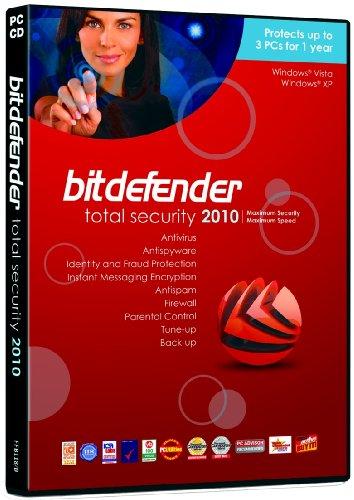 BitDefender Total Security 2010 (3 postes, 1 an) [import anglais]