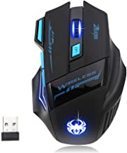 Computer Accessories Mouse!!! Fenebort Adjustable 2400DPI Optical Wireless Gaming Game Mouse for Laptop PC