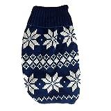 Jersey de invierno para chihuahuas y perros pequeños, ropa de perro de alta calidad, adorable diseño noruego